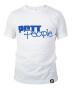 T-Shirt Weiss/Blau