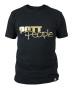 T-Shirt Schwarz/Gold