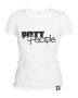 Girlie T-Shirt Weiss/Schwarz