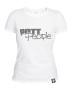 Girlie T-Shirt Weiss/Grau