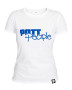 Girlie T-Shirt Weiss/Blau