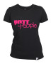 Girlie T-Shirt Schwarz/Pink