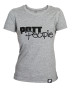 Girlie T-Shirt Grau/Schwarz