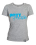 Girlie T-Shirt Grau/Hellblau