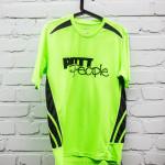 Herren Sportshirt Grün/Schwarz