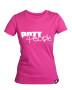 Girlie T-Shirt Pink/Weiss