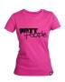Girlie T-Shirt Pink/Schwarz