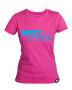 Girlie T-Shirt Pink/Hellblau