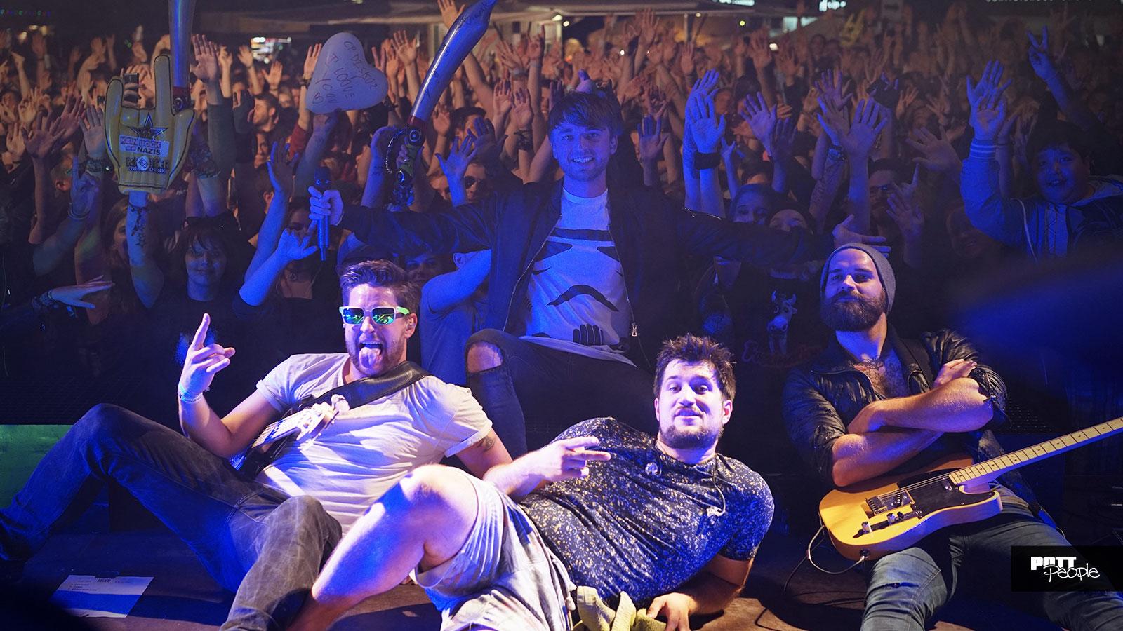 POTTpeople-Band sorgt für Euphorie bei Bochum Total 2016