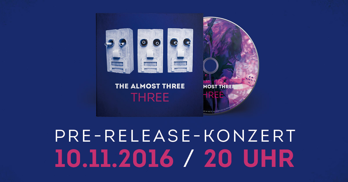 Pre-Release-Konzert! THE ALMOST THREE feat. Hendrik Dorgathen
