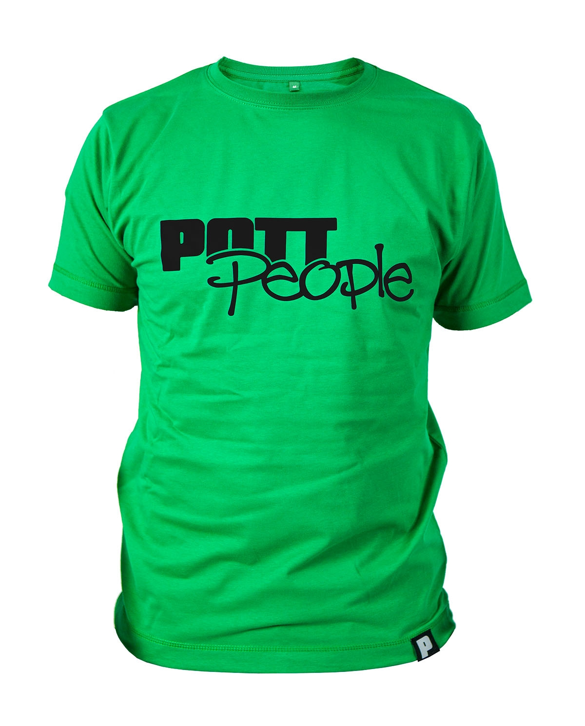 T-Shirt Grün/Schwarz